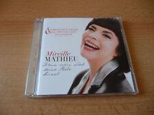 CD Mireille Mathieu-Si ma Chanson ton âme Embrasses - 2013