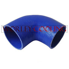 "Silicone 90° degree Elbow hose 76mm 3"" ID INTAKE TURBO INTERCOOLER PIPE BLUE"
