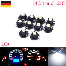10X T4.2 1smd 1210 LED Tachobeleuchtung Instrumentenbeleuchtung 12 Volt led neu