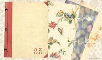 Musterbuch mit 90 Tapetenmustern von 1941