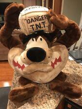 "28"" Tasmanian Devil TNT  Looney Tunes Plush. With Tags 1998"