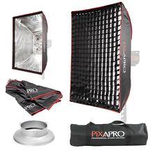 """60x90cm Facile Ouvrir Parapluie Studio Softbox 4 cm Honeycomb Bowens S Type 23.6""""x35.4"""