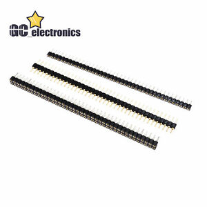 Header Strip Connector 40 Pin 2.54mm  Round Male/Female Single/Double Straight