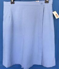 Nwt Talbots Blue Skort Shorts Skirt Tennis Skirt 14P 14 Petitie