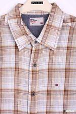 Karierte figurbetonte Tommy Hilfiger Herren-Freizeithemden & -Shirts
