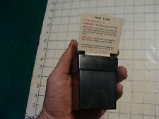 vintage 1969 KOHNER mirror puzzle w card----NERVOUS BREAKDOWN--TEST TUBE---