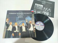 """Los 3 Tenores Carreras Domingo Pavarotti Mehta 1990 - LP Vinilo 12"""" VG/VG - 3T"""