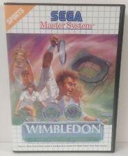 Sega Master System Wimbledon The Championships *** NO MANUAL ***