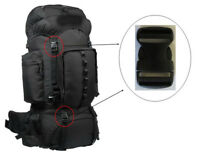 "NEW 1"" Black Clip Replacement Outdoor Master Hiking Backpack Outdoor 50L 60L"