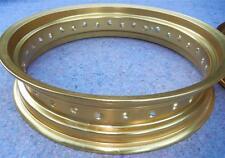 "WM6 x 17"" - 32 spoke DID gold motorcycle rim OEM Honda TransAlp Africa Twin more"