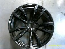 "Factory BMW X5 X6 WHEEL RIM 2014 2015 2016 2017 20"" Rear Black BMW Rim #86316 #1"