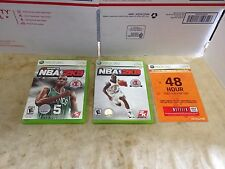 NBA 2K8 & NBA 2K9 Complete Includes 48hr Gold Subscription XBOX 36O