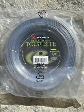 Solinco Tour Bite 17 Gauge 1.20mm 656' 200m Tennis String Reel NEW