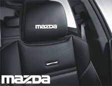 5x Mazda Aufkleber Logo Simbol für Ledersitze Mazda 2 3 6 CX-3 CX-5 MX-5 RS RX-7