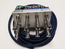 Lowrider hydraulics 6 SWITCH F B INDIVIDUAL CORNERS  prewire switch kit 15 ft