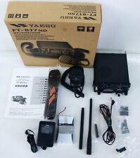 Yaesu FT-817ND Compact Transceiver HF / 50 /144 / 430MHz All Mode with Box JAPAN