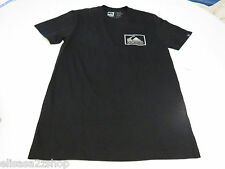 Men's Quiksilver T shirt NWT surf skate S Chevron Box MTO AF2 KVJ0 Regular Fit