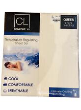 Comfort Lab Queen Sheet Set - Ivory