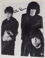 Richie Ramone RAMONES Signed Autograph 8x10 Photo