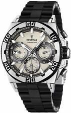 Festina Herren-Armbanduhr XL Tourchrono Chronograph Quarz F16659/1