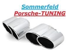 PORSCHE Carrera 996 mk1 + mk2 Tequipment ottica doppio terminali di scarico Double Tail Pipe