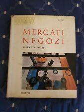 ROBERTO ALOI ESEMPI MERCATO NEGOZI (MKT. SHOPS) HC/ DJ 1959 HOEPLI