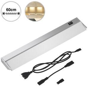 Lampada Luce Sottopensile 60 cm Mobili Cucina Armadio Barra 60 LED in Alluminio