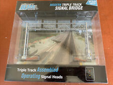 More details for blma ho scale 4025 - modern triple track signal bridge -new -rare & discontinued