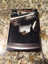 New Gang Starr – Full Clip: A Decade Of Snippets Promo Cassette DJ Premier GURU