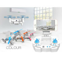 901S Mini Foldable 2.4G 4CH 6Axis RC Quadcopter Drone With 0.3MP WIFI Camera UK