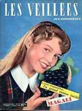BRIGITTE BARDOT BB rare Full-Cover 48 1953 Elle Les Veillées des Chaumières
