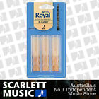 Rico Royal Bb Clarinet Reed 3 Pack Reeds Size 2 ( Two ) RCB0320 3PK
