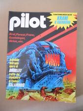 PILOT Rivista Fumetti n°13 1983  Druillet Krane il Guerriero Brett   [D9]