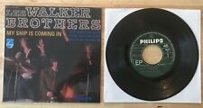 RARE FRENCH EP THE WALKER BROTHERS MY SHIP IS COMING IN