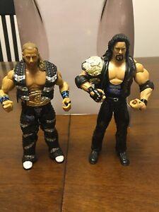 Jakks WWE Classic Superstars Ringside Exclusive 2 Dudes With Attitudes Figures