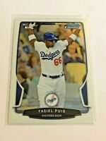 2013 Bowman Chrome Baseball - Rookie Card - Yasiel Puig RC - Los Angeles Dodgers
