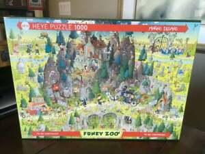 NEW Heye Funky Zoo TRANSYLVANIAN HABITAT 1000 piece Jigsaw Puzzle