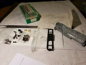 Ho Vintage Bowser Diecast FM Baby Trainmaster Diecast Shell For Parts/Rest  #19