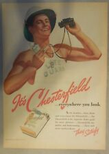 Chesterfield Cigarette Ad: Everywhere You Look ! Tabloid Page 1939