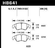 fits 2008-2009 Audi A4 A4 Quattro A5 Quattro  HAWK PERFORMANCE