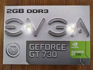 EVGA GTX 730 Lightly Used