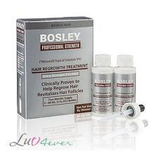 Bosley Hair Regrowth Treatment Minoxidil Solution for Men (2 - 2 Bottles)