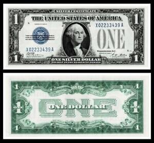 1928-A $1 SILVER CERTIFICATE NOTE~~CRISP ~UNCIRCULATED
