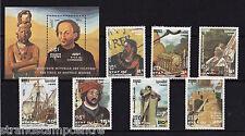 Cambogia - 1990 Colombus (1a edizione) - U / M-SG 1133-9 + ms1140