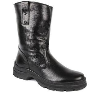 Russian soviet winter boots genuine leather genuine wool very warm
