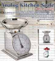 Taylor Stainless Steel Kitchen Analog Kilogram Weighing Scale, Food, 11 lb.