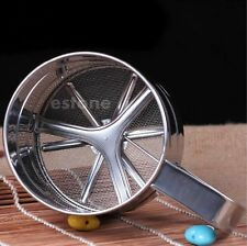 Stainless Steel Mechanical Flour Sifter Baking Icing Sugar Shaker Strainer Sieve