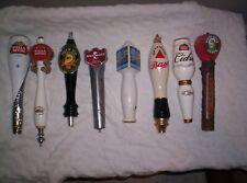 8 Vintage Beer Taps Smithwicks,Woodchuck,Shoc k Top,Bluemoon,Bass,Stella Used