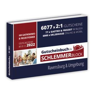 Gutscheinbuch.de Schlemmerblock Ravensburg & Umgebung 2022
