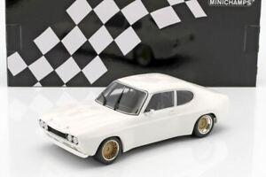 1:18 1970 Ford Capri RS 2600 -- Plain Body White -- Minichamps